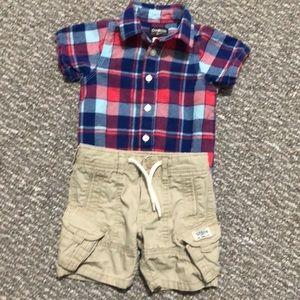 OshKosh B'Gosh summer outfit